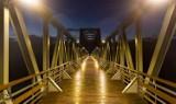 GMINA NOWA SÓL. Zobacz jak wygląda most w Stanach nocą. Świetne zdjęcia zrobił Jarosław Werwicki z Nowej Soli