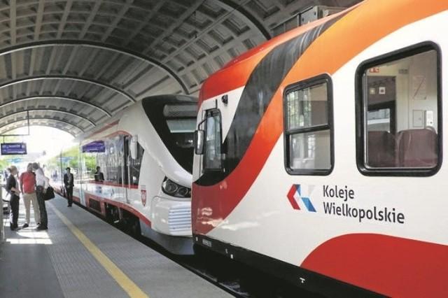 Problemy z kursowaniem mają m. in. pociągi Kolei Wielkopolskich.