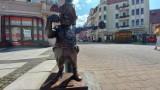 Nowy Bachusik Policjantikus zamieszkał na zielonogórskim deptaku. Będzie miał wszystkich na oku!