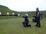 Policjanci ćwiczyli strzelanie z broni palnej. Trening zakończył się egzaminem