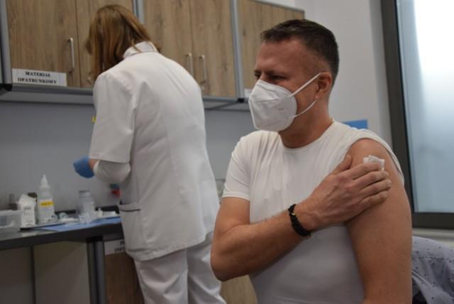 Szczepienia w szpitalu w Gorzowie są od 27 grudnia.