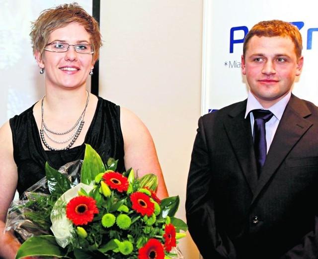 Zwycięzcy poprzedniej edycji plebiscytu: lekkoatletka Anita Włodarczyk oraz trener wioślarek Marcin Witkowski