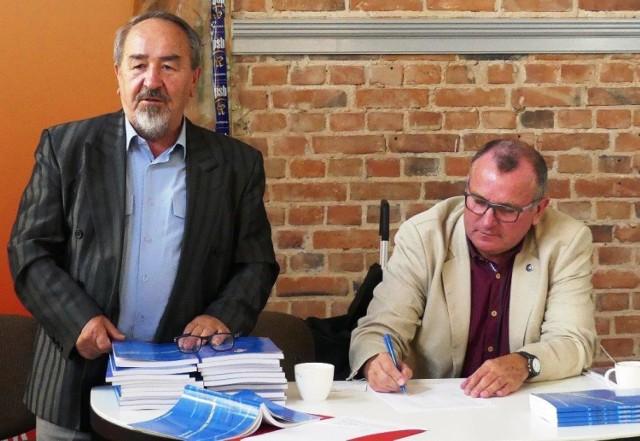 Od lewej: Leszek Walkiewicz, prezes TPZD