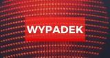 Wypadek na obwodnicy w Gdyni. 31.07.2021. Kolizja dwóch samochodów ciężarowych. Dwie osoby poszkodowane. Droga zablokowana