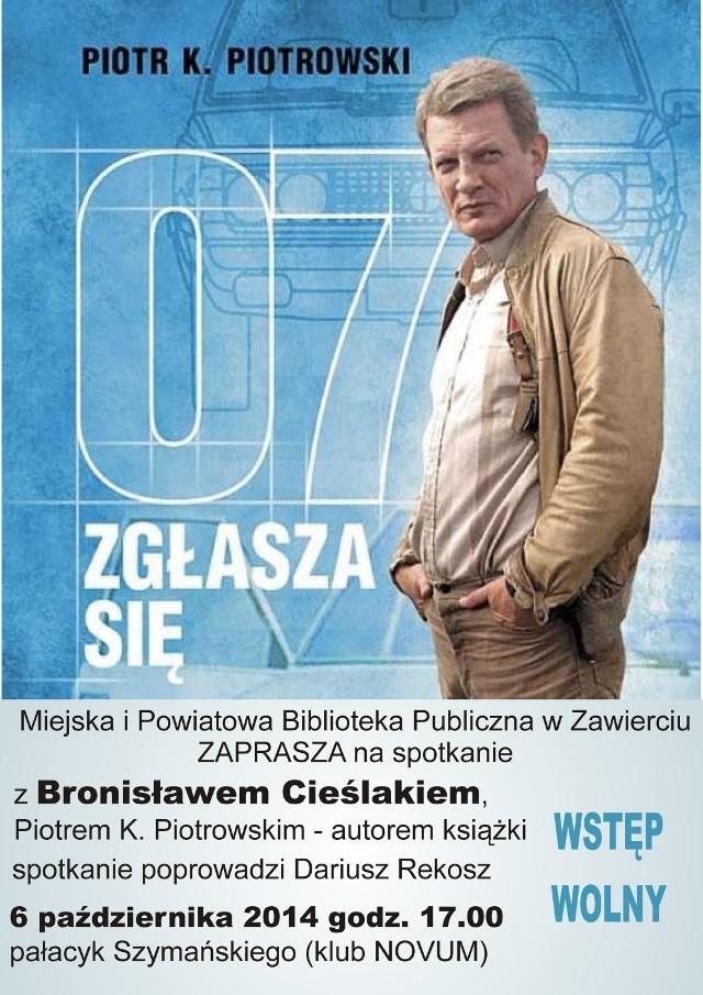 Spotkanie z Bronisławem Cieślakiem w Zawierciu.