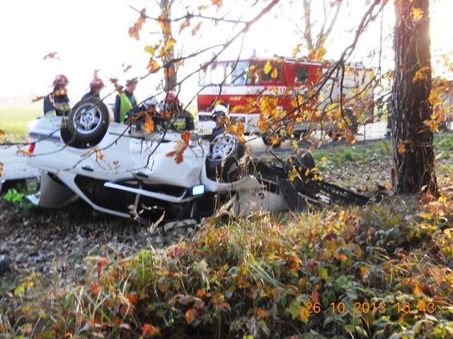 Wypadek w Smolicach