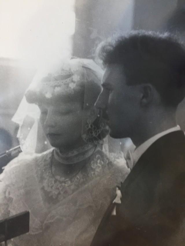 W dniu ślubu. 30 marzec 1986 r.