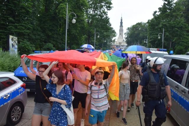 II Marsz Równości w Częstochowie 16.06.2019.