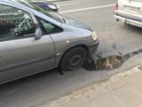 Pijany kierowca spowodował kolizję na ulicy Częstochowskiej w Kaliszu [FOTO]