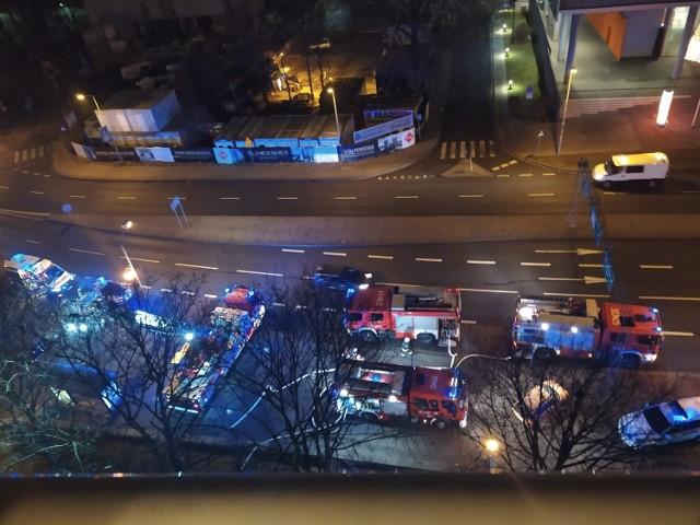 Na miejscu działało pięć jednostek straży pożarnej