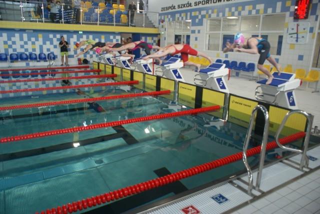 Uroczysta inauguracja nowego basenu w Zespole Szkół Sportowych