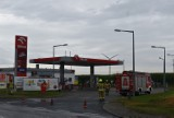 Chocz. Wyczuwalny gaz na stacji paliw. Interweniowały służby