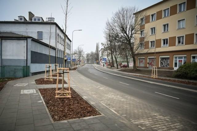 Ulica Korczaka w Częstochowie została przebudowana