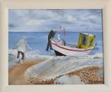 Emerytka z Lubska nauczyła się malować, miała pokazać obrazy na wystawie, dziś można je oglądać tylko online