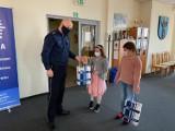 Dzieci ze Zduńskiej Woli wyróżnione w policyjnym konkursie plastycznym