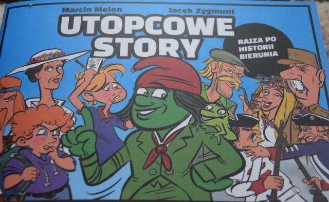 "Komiks ""Utopcowe story"""