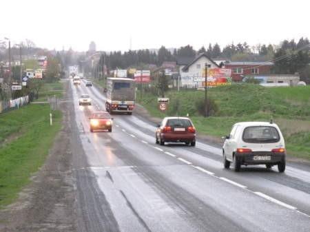 Wjazd do Chojnic od strony Człuchowa nie jest wizytówką tego miasta. FOT. WOJCIECH PIEPIORKA