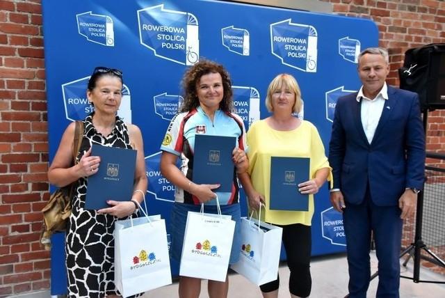 We wtorek, 27 lipca, w zabytkowych Młynach Rothera w Bydgoszczy odbyła się uroczystość, podczas której nagrodzeni zostali laureaci kolejnej edycji rowerowej rywalizacji miast.