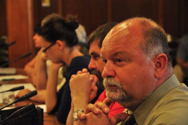 Radny Janusz Rautszko