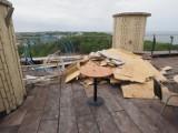 Perła Bałtyku w Kołobrzegu, remont kultowej kawiarni na jej dachu i praca do wzięcia