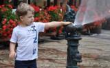 Wrocław: w Rynku pojawiły się nowe zraszacze [zdjęcia]. W sam raz na ten ukrop