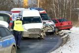 Trzy osoby ranne w groźnym wypadku we Wrocławiu. Zobacz zdjęcia!