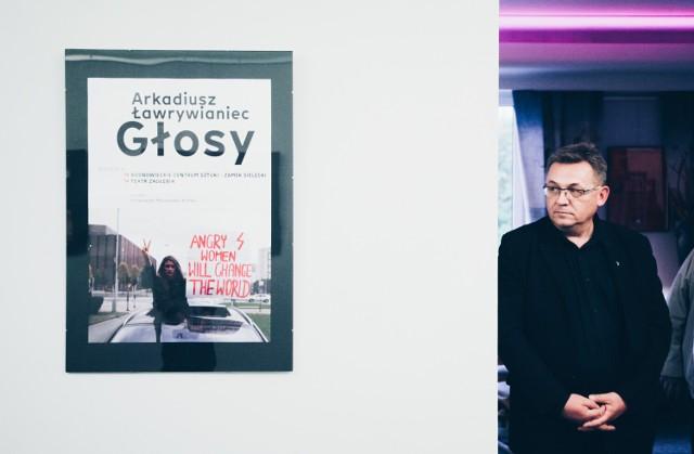 Niegaleria w Teatrze Zagłębia już otwarta. Możemy podziwiać tam dokument fotograficzny Arkadiusza Ławrywiańca pt. Głosy.   Zobacz kolejne zdjęcia. Przesuń w prawo - wciśnij strzałkę lub przycisk NASTĘPNE