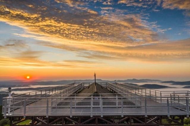 Magiczne wschody i zachody słońca z Jaworzyny Krynickiej