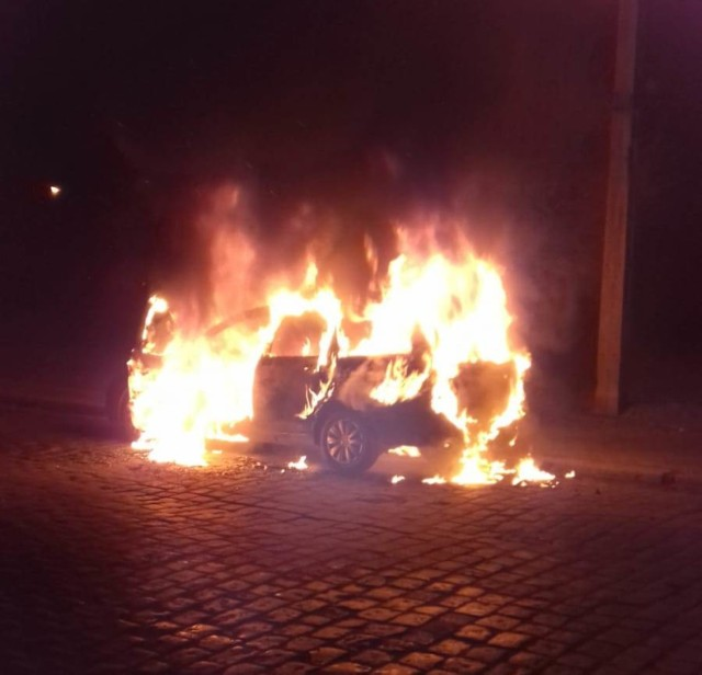 Pod koniec lutego doszło do pożaru samochodu osobowego w Gubinie. Nie po raz pierwszy...