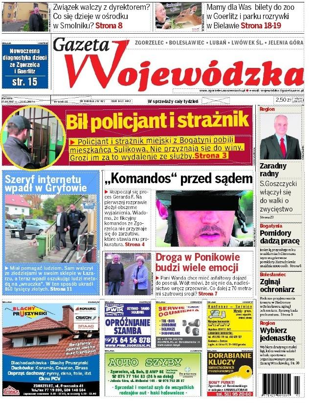 Gazeta Wojewódzka - 15 października