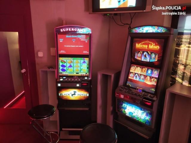 Nielegalny hazard w Jastrzębiu. Zabezpieczono automaty do gier i...narkotyki