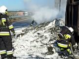 Pożar ciężarówki na trasie S3 pod Nową Solą. Zobacz, co się stało na drodze w poniedziałek. Mamy zdjęcia i film