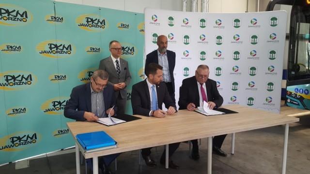 PKM Jaworzno podpisało umowę na dostarczenie 6 nowych autobusów elektrycznych. Na ulice wyruszą w 2022 roku.
