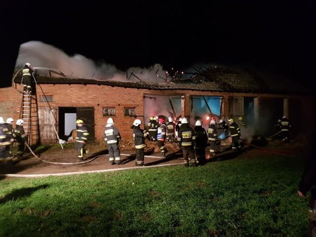 Jeden z podejrzanych pożarów wybuchł w miejscowości Świątki