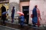 Kraków. Street art na zabytkowych kamienicach przy ulicy Szpitalnej [GALERIA]