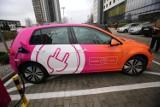 W Toruniu przybywa aut elektrycznych