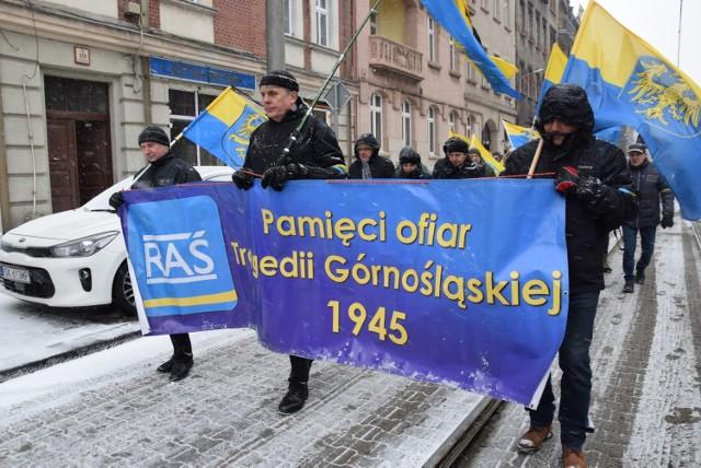 Marsz na Zgodę w 2019 roku. W tym roku nie może odbyć się przemarsz z Katowic pod bramę obozu w Świętochłowicach
