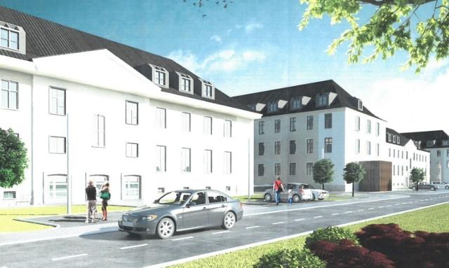 Tak ma wyglądać nowe osiedle mieszkaniowe