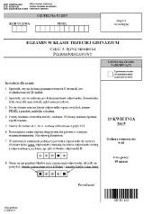 Egzamin gimnazjalny 2015: Język niemiecki - poziom podstawowy [ODPOWIEDZI, ARKUSZE CKE]