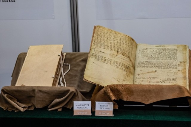 Faksymile dokumentów Krzysztofa Kolumba