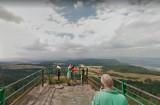 Szczeliniec Wielki: kamery Google Street View przyłapały turystów