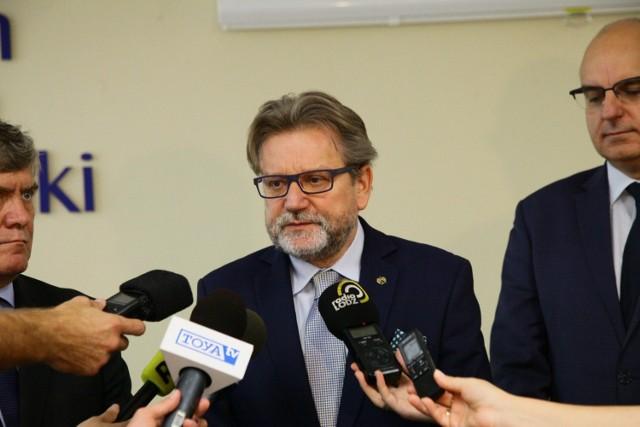 Szef GIS Jarosław Pinkas