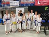 Siedem medali dla młodych karateków z Tomaszowa Lubelskiego