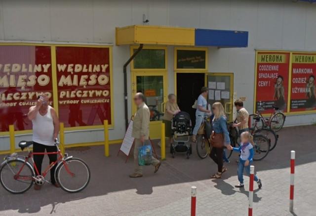 Osiedle Widok w Skierniewicach w Google Street View
