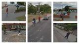 Tak wyglądają na zdjęciach z Google Street View mieszkańcy gminy Lubanie