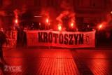 Iluminacja kibiców z okazji 101. rocznicy wybuchu Powstania Wielkopolskiego [ZDJĘCIA + FILMY]