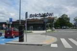 Parkomaty ustawiono na parkingu przy dworcu czyli tzw. węźle przesiadkowym w Bełchatowie