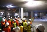 Zwiedzanie metra na Bemowie. Mieszkańcy weszli do stacji C4. Za rok przejadą tędy pociągi
