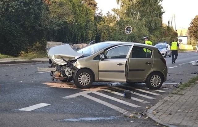 W wypadku w Katowicach ucierpiały dwie kobiety.