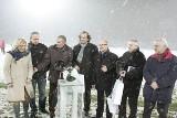 Wielkie Derby Śląska Ruch-Górnik w śniegu i ciemności [ZDJĘCIA + WIDEO!]